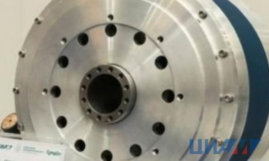CIAM held initial test of high temperature superconducting electric engine